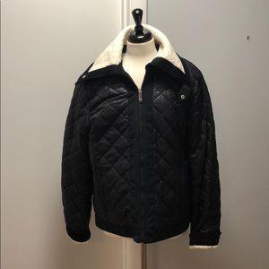 NWOT Sam Edelman reversible fleece bomber jacket
